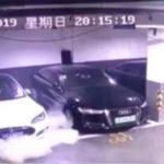 Tesla Model S s-a aprins din senin! Filmul incendiului din garaj