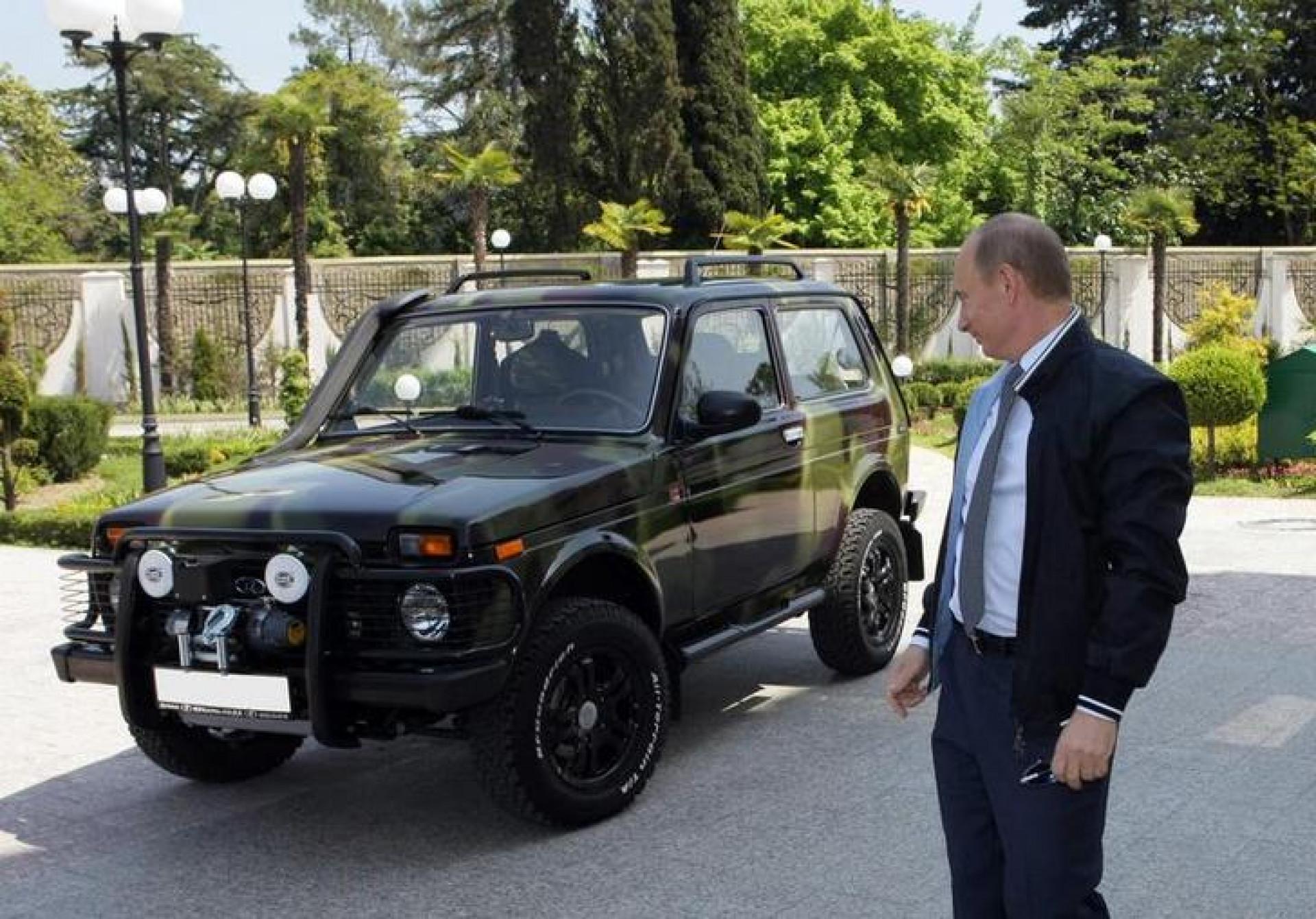Vladimir Putin masina 2