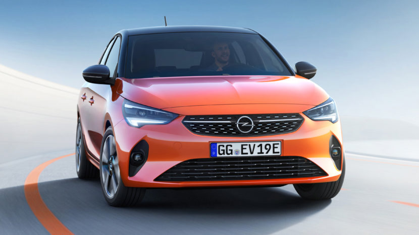 Noul Opel Corsa-e