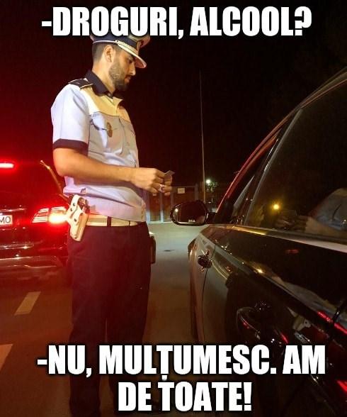 polițist șofer