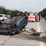 Dacia Logan, fugărită de poliție pe autostradă în Germania