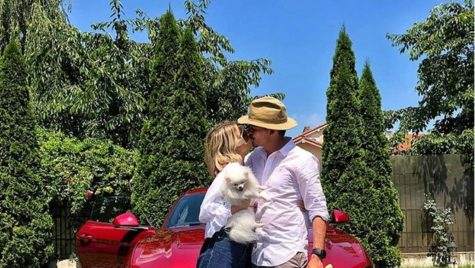 Ce super bolid a primit Lidia Buble de la iubitul ei?