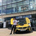 Ianis Hagi BMW i8 Coupe (1)