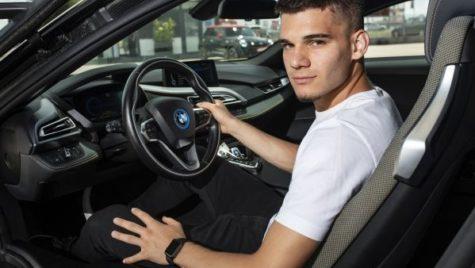Ce mașină a primit Ianis, fiul lui Gheorghe Hagi?