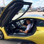 Ianis Hagi BMW i8 Coupe (2)