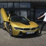Ianis Hagi BMW i8 Coupe (3)