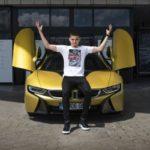 Ianis Hagi BMW i8 Coupe (5)