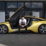 Ianis Hagi BMW i8 Coupe (6)