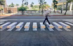 Primele treceri de pietoni 3D din București. Unde au fost amplasate?