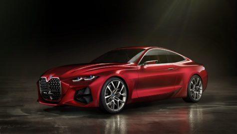 LIVE Frankfurt 2019 – BMW Concept 4 – Și grila tot mai crește…