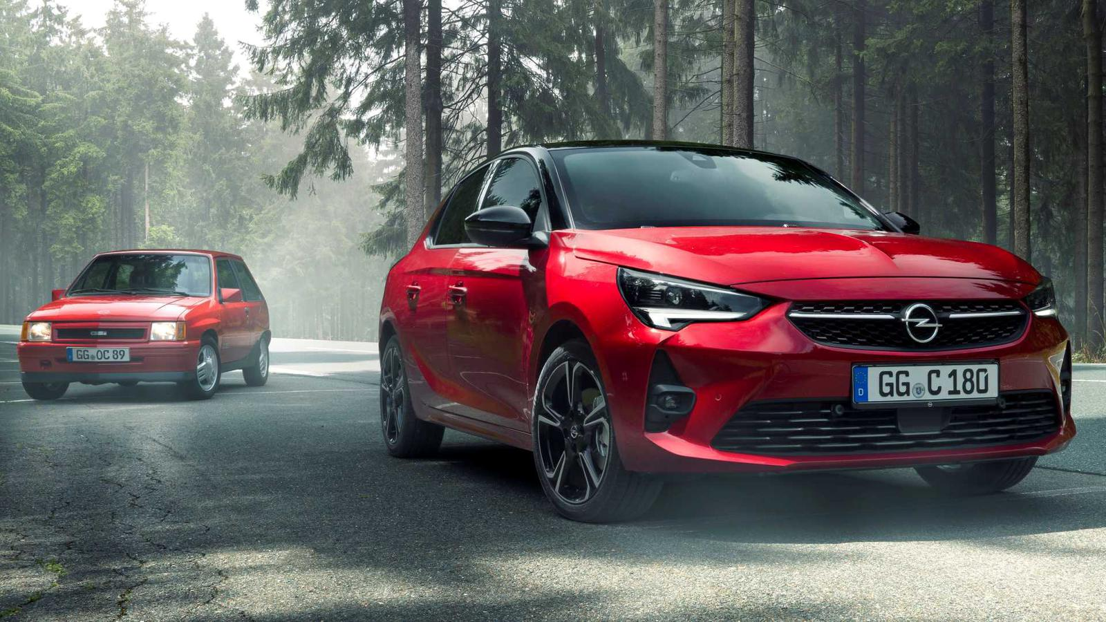 Opel Corsa GS Line vs Opel Corsa GSi (1)