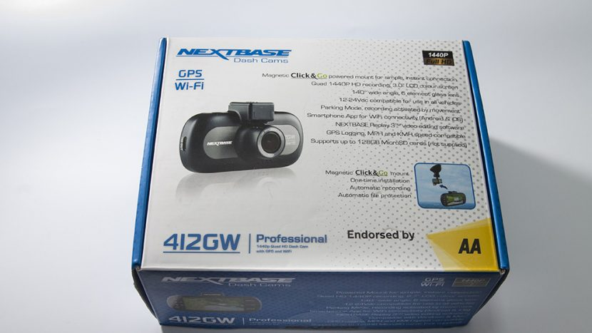 test-camera-dvr-nextbase-412gw