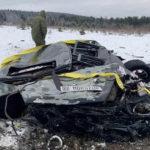 Mercedes Clasa G aruncat de la 300 m înălțime. Video