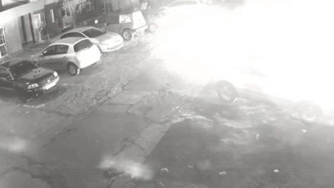 I-a incendiat mașina din răzbunare. S-a întâmplat în Reșița