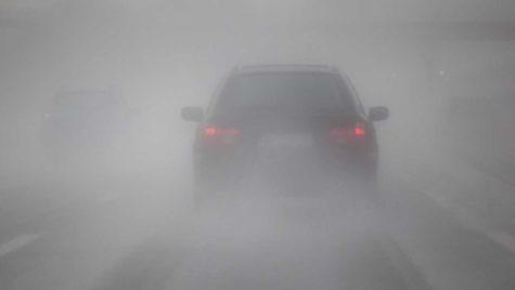 Conducerea preventivă pe timp de ceață