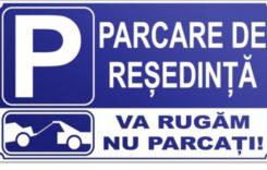 Locurile de parcare de reședință pot fi ocupate în timpul zilei?