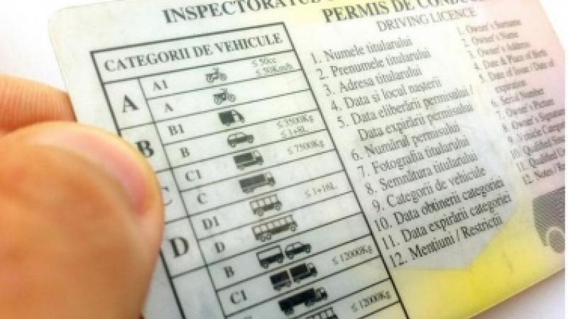 permisul de conducere