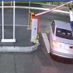 Bariere distruse în parcările publice din București
